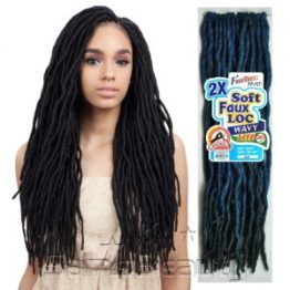 FreeTress 2x Soft Wavy Faux Locs