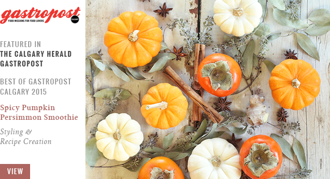 Feature // The Best of Gastropost Calgary 2015 | Orange Is the New Black: Delicious fall flavours | Calgary Herald Gastropost // JustineCelina.com