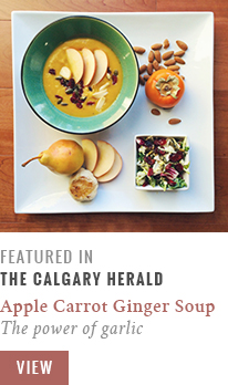 Feature // The Power of Garlic | Calgary Herald Gastropost // JustineCelina.com