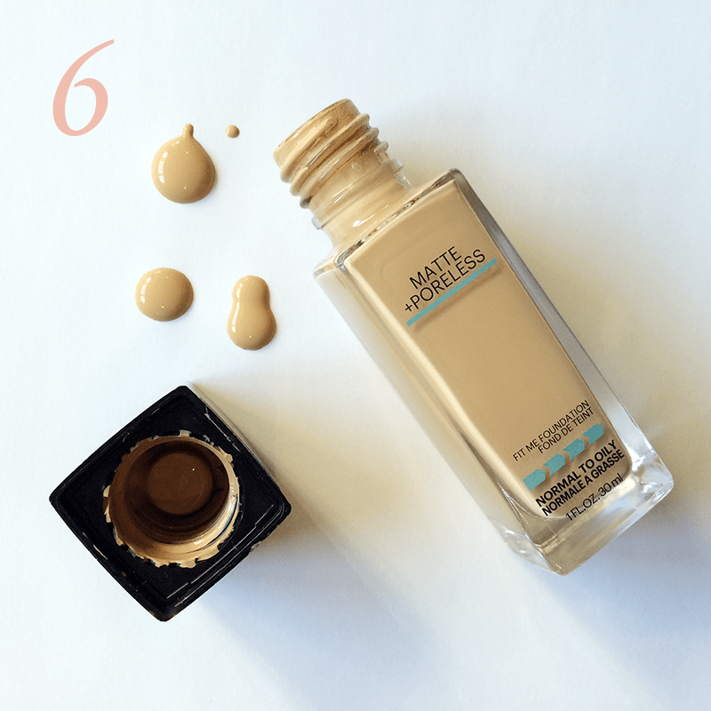 Best in Beauty | February | Maybelline FIT ME!® Matte + Poreless Foundation Natural Beige (220) // JustineCelina.com