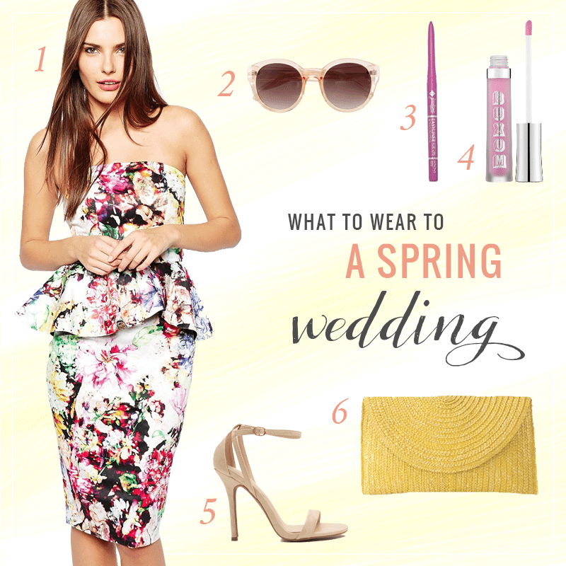 What to Wear to a Spring Wedding // JustineCelina.com