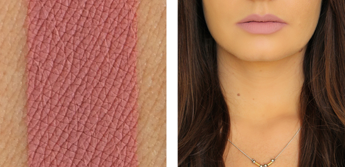 Colourpop Ultra Matte Lip in Midi Photos, Review, Swatches // JustineCelina.com