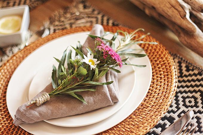 DIY | Wildflower Bouquet // JustineCelina.com