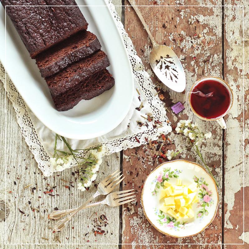 Decadent Dark Chocolate Banana BRead