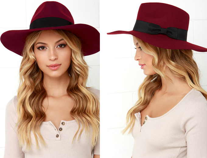 Fall Fashion Trends 2015 | Fall Fedoras // JustineCelina.com