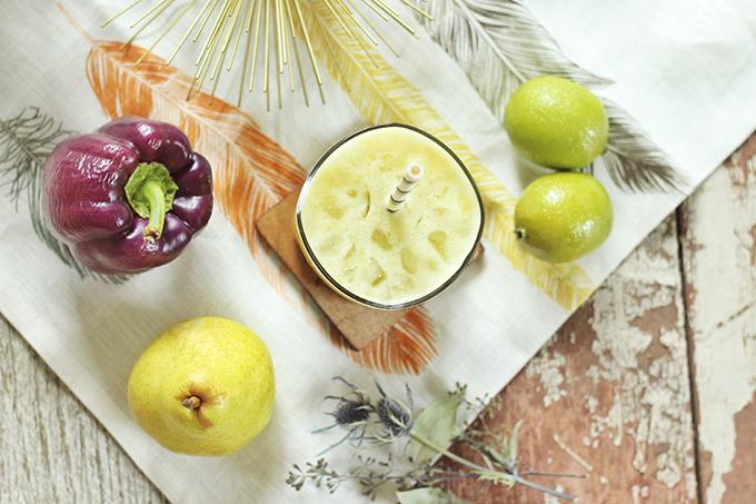 Peppered Pear Elixir // JustineCeilna.com