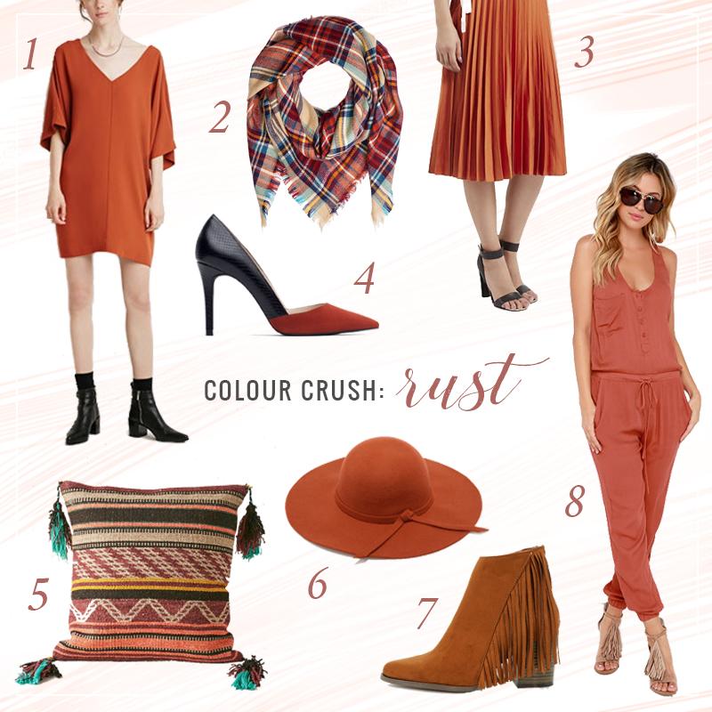 Colour Crush | Rust // JustineCelina.com