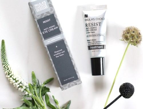 Paula's Choice Resist Anti-Aging Eye Cream Review // JustineCelina.com