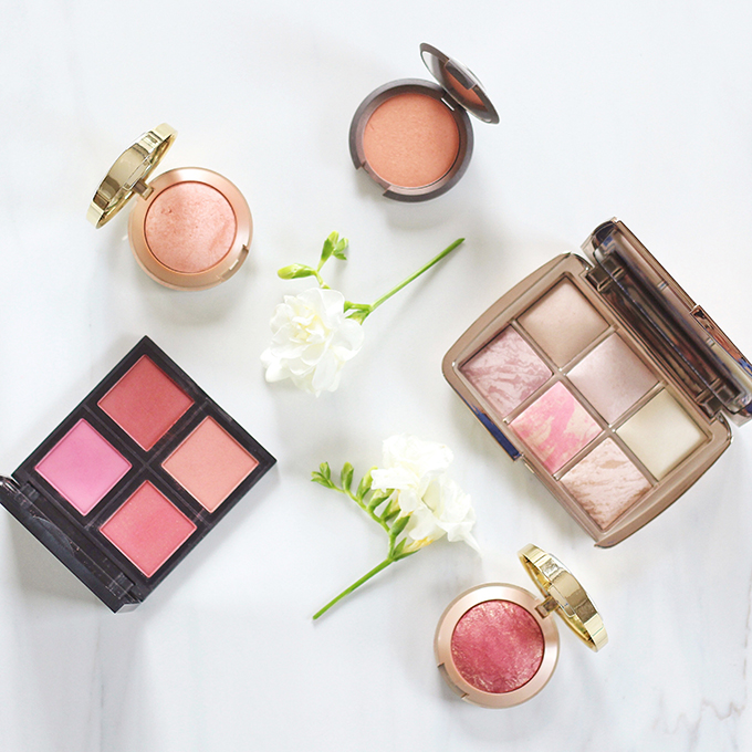 2015 Beauty Favourites | Hourglass Ambient Lighting Blushes Photos, Review, Swatches | BECCA Mineral Blushes Photos, Review, Swatches | Milani Baked Blushes Photos, Review, Swatches | e.l.f. Studio Blush Palette in Dark Photos, Review, Swatches // JustineCelina.com
