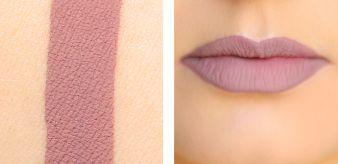 Colourpop Ultra Matte Lip in Trap Photos, Review, Swatches // JustineCelina.com