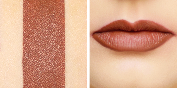 Colourpop Ultra Matte Lip in Tansy Photos, Review, Swatches // JustineCelina.com