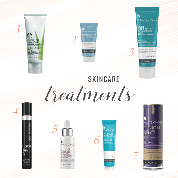 Skincare Treatments | Spring 2015 // JustineCelina.com