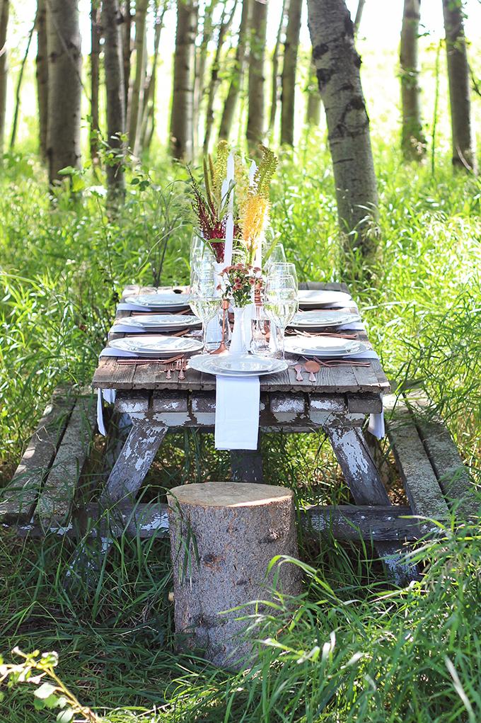 Al Fresco Summer Dining Inspiration // JustineCelina.co,