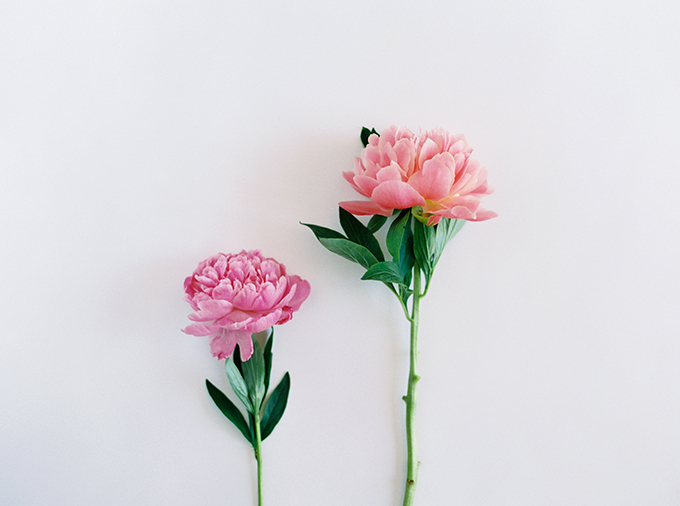 DIY | How to Make a Summer Flower Arrangement with Rebecca Dawn Design | Pink Peonies // JustineCelina.com