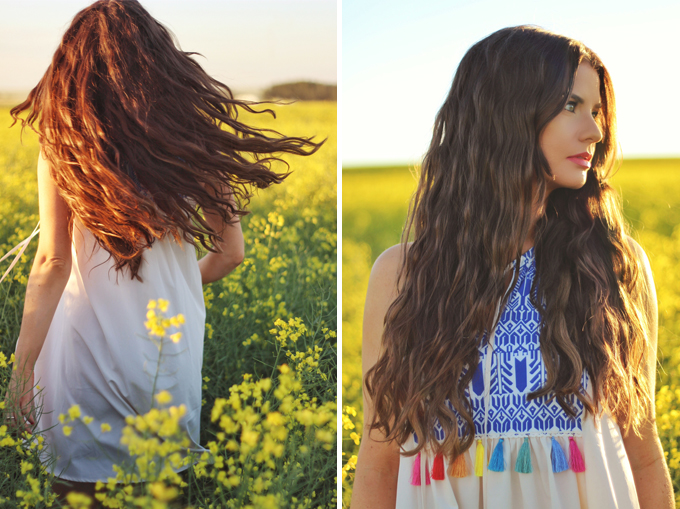 Here Comes the Sun | Carefree Summer Style in a Canola Field | Bohemian Summer Jewellery | Calgary Fashion Blogger // JustineCelina.com