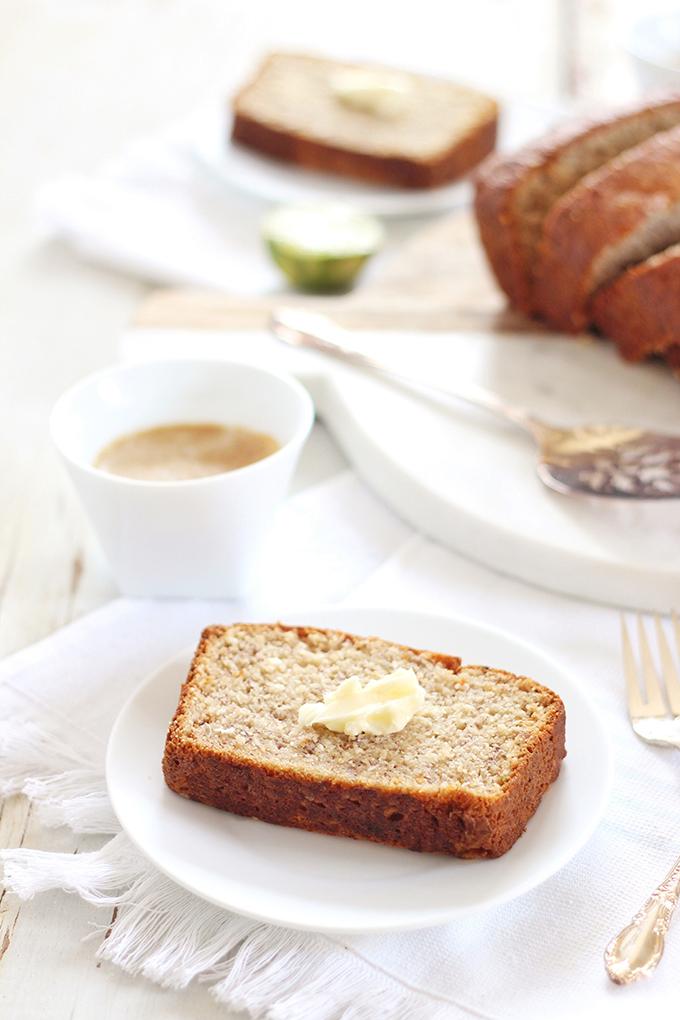 Allergy Free Aloha Banana Bread (Gluten, Dairy & Refined Sugar Free) // JustineCelina.com