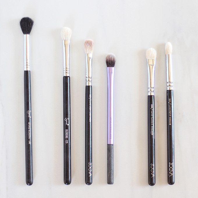 Makeup Brush 101 | Your Complete Guide to Makeup Brushes and How to Use Them | The Best Eyeshadow Brushes // JustineCelina.com