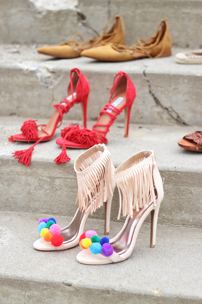 Shoes of Summer + End of Season Sales // JustineCelina.com