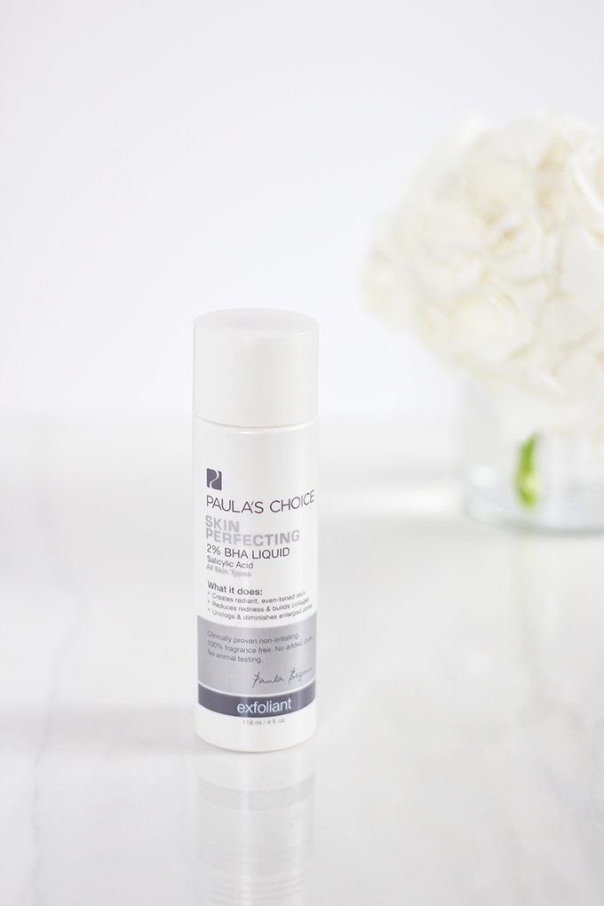 Paula's Choice Skin Perfecting 2% BHA Liquid Exfoliant Review | 5 Powerhouse Skincare Ingredients // JustineCelina.com