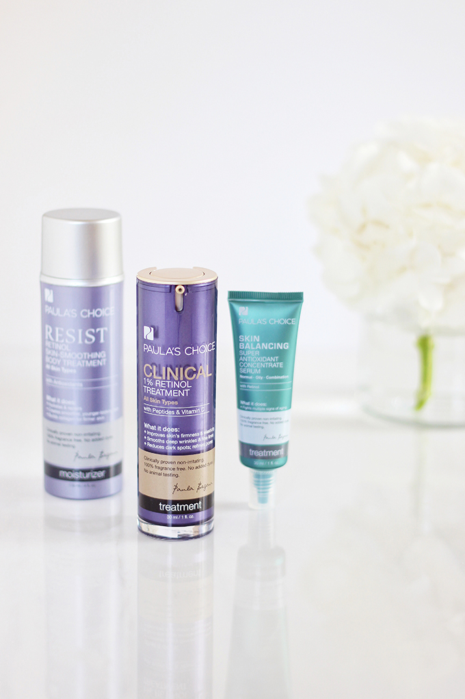 Paula's Choice Resist Pure Radiance Skin Brightening Treatment Review Paula's Choice Clinical 1% Retinol Treatment Review | Resist Retinol Skin-Smoothing Body Treatment Review | 5 Powerhouse Skincare Ingredients // JustineCelina.com