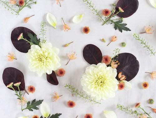 Digital Blooms September 2016 // JustineCelina.com x Rebecca Dawn Design