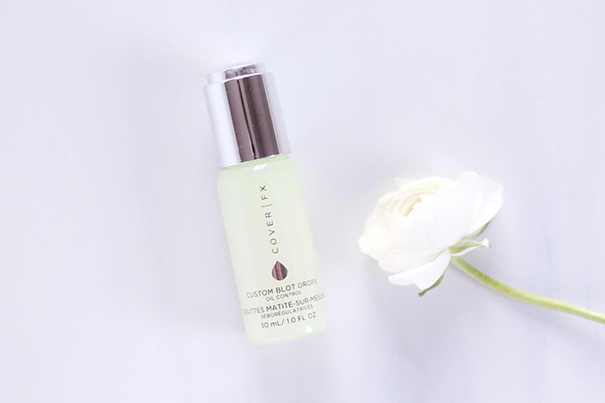My Routine for Flawless Looking Skin   Cover FX Custom Blot Drops Photos, Review, Application // JustineCelina.com