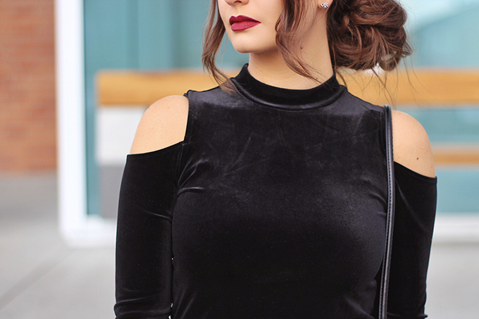 Transitioning the Trends | Autumn to Winter 2016 / 2017 | Cold Shoulder Tops // JustineCelina.com