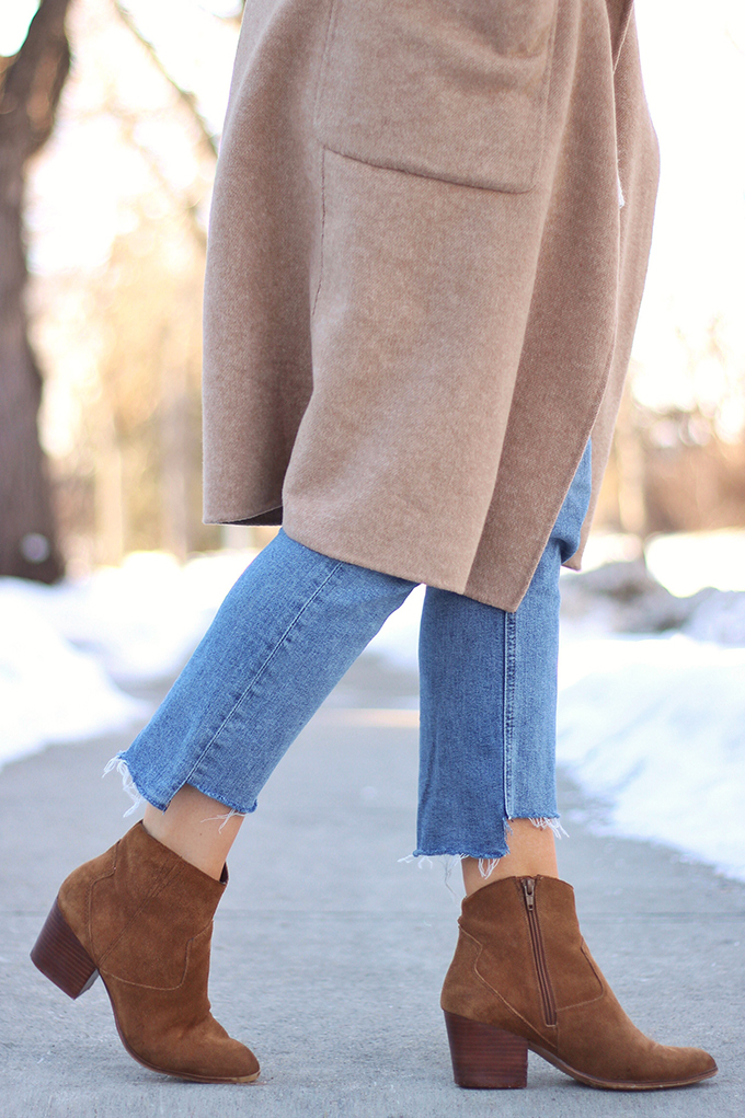 WINTER 2017 SHOE GUIDE: BASICS | Neutral Low Heel Ankle Booties // JustineCelina.com