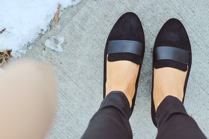 Winter 2017 Shoe Guide | Extras | Elevated Loafers // JustineCelina.com