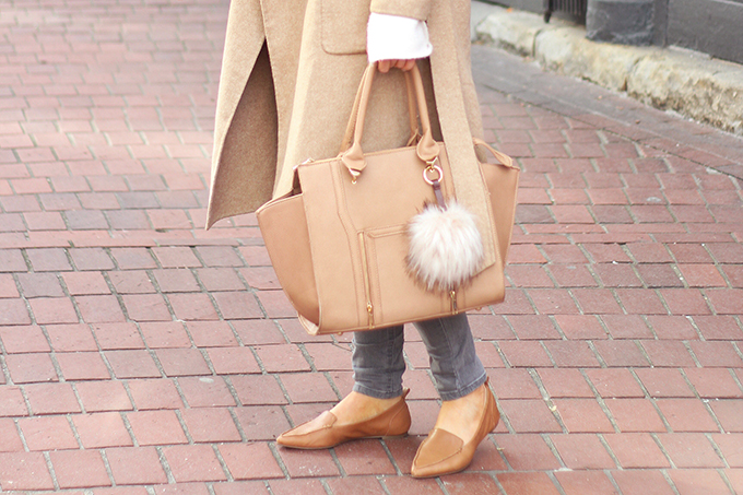 Effortless Travel Style | Lulus Wing Woman Handbag in Brown // JustineCelina.com