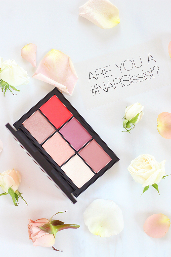 NARS NARSissist Unfiltered Cheek Palette in Unfiltered I Photos, Review // Spring 2017 Beauty Trend Guide // JustineCelina