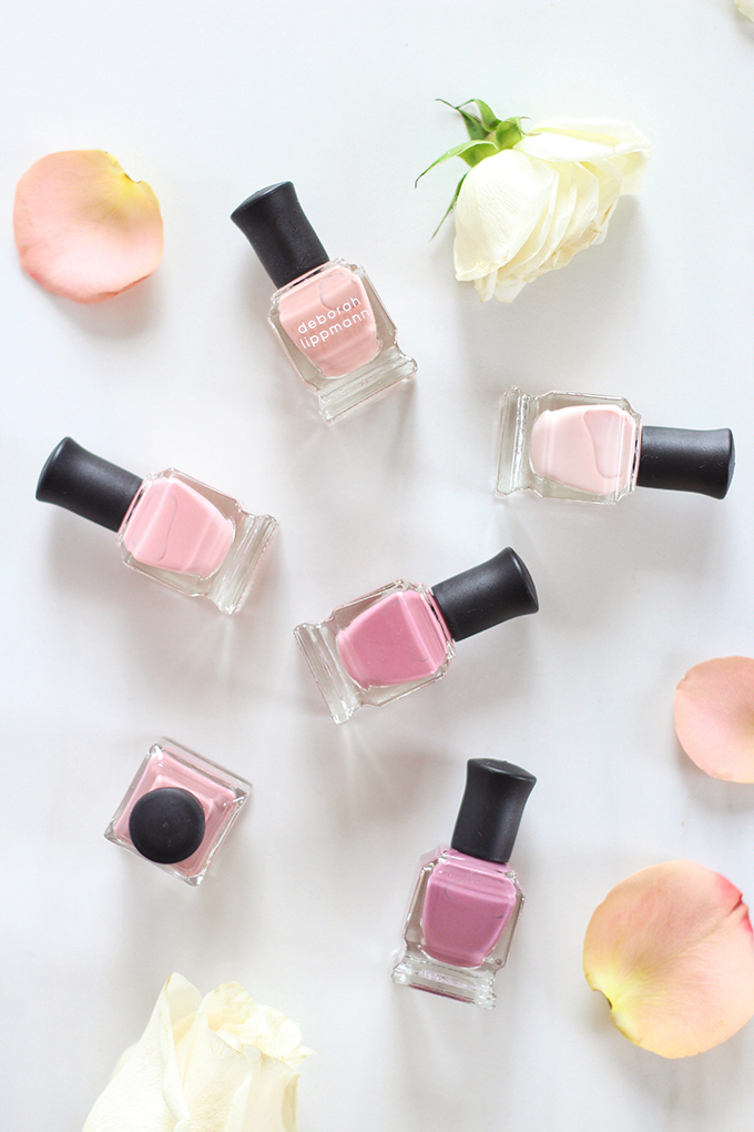 Deborah Lippmann Bed of Roses Nail Polish Set Photos, Review // Spring 2017 Beauty Trend Guide // JustineCelina