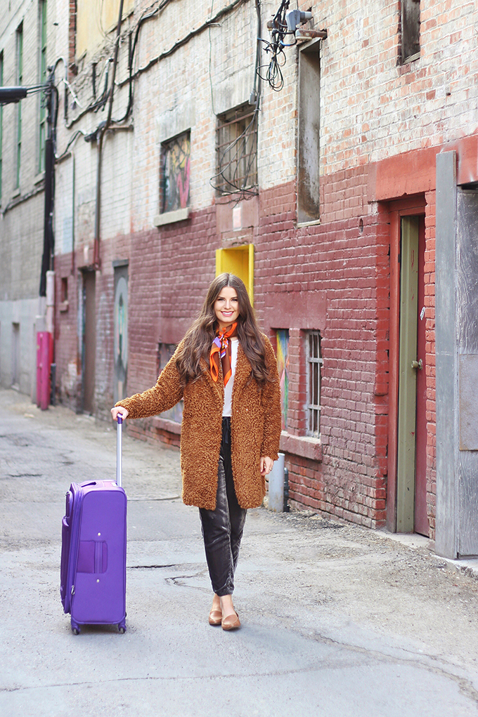 Travel Guide | Vancouver | American Tourister iLite Max Spinner Medium | Purple // JustineCelina.com
