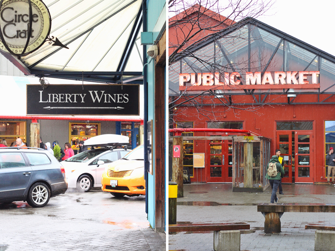 Travel Guide   Granville Island Public Market, Liberty Wines // JustineCelina.com