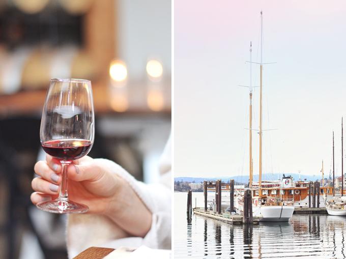 Travel Guide | Vancouver Island, Victoria Harbour // JustineCelina.com