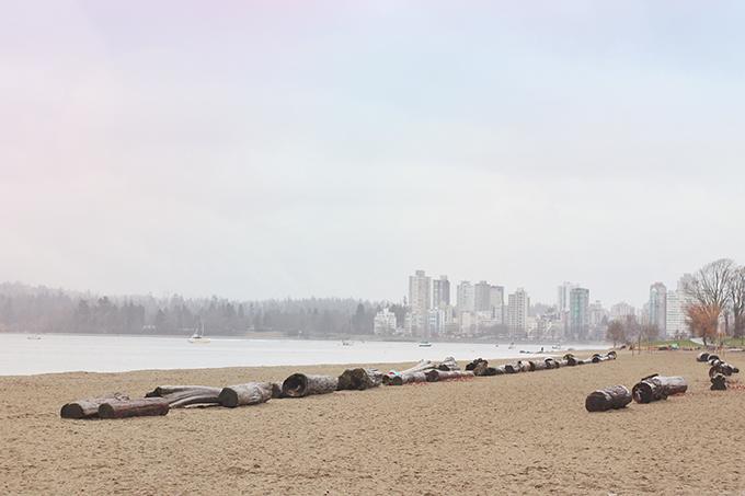 Vancouver Travel Guide, Kitsilano Beach // JustineCelina.com
