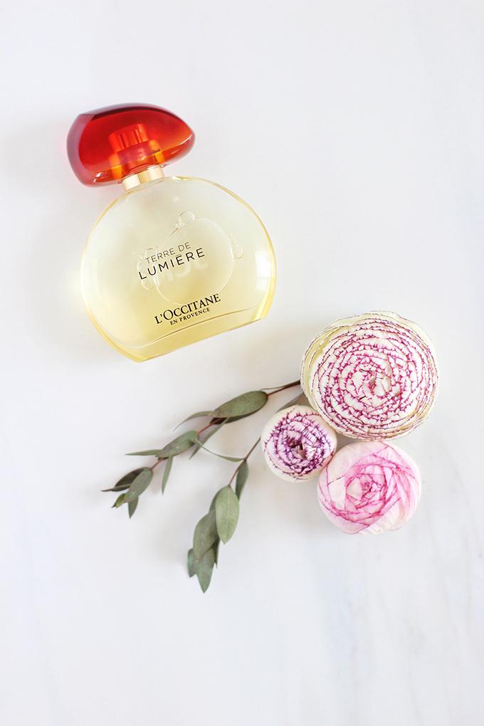 L'Occitane Terre de Lumière Eau de Parfum Photos, Review | April 2017 Beauty Favourites // JustineCelina.com