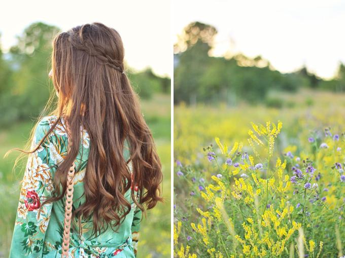 Summer 2017 Trend Guide | Kimono Love | Carefree Braids // JustineCelina.com