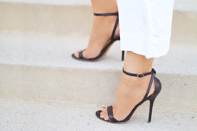SUMMER 2017 MEGA SHOE GUIDE   30 PAIRS!   Minimalist 2 Strap Sandals // JustineCelina.com