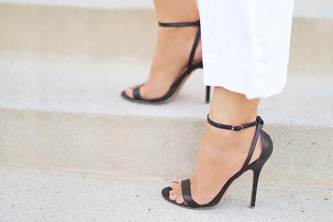 SUMMER 2017 MEGA SHOE GUIDE | 30 PAIRS! | Minimalist 2 Strap Sandals // JustineCelina.com