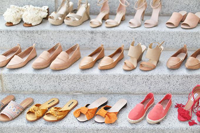 Summer 2017 Mega Shoe Guide | 30 Pairs! // JustineCelina.com