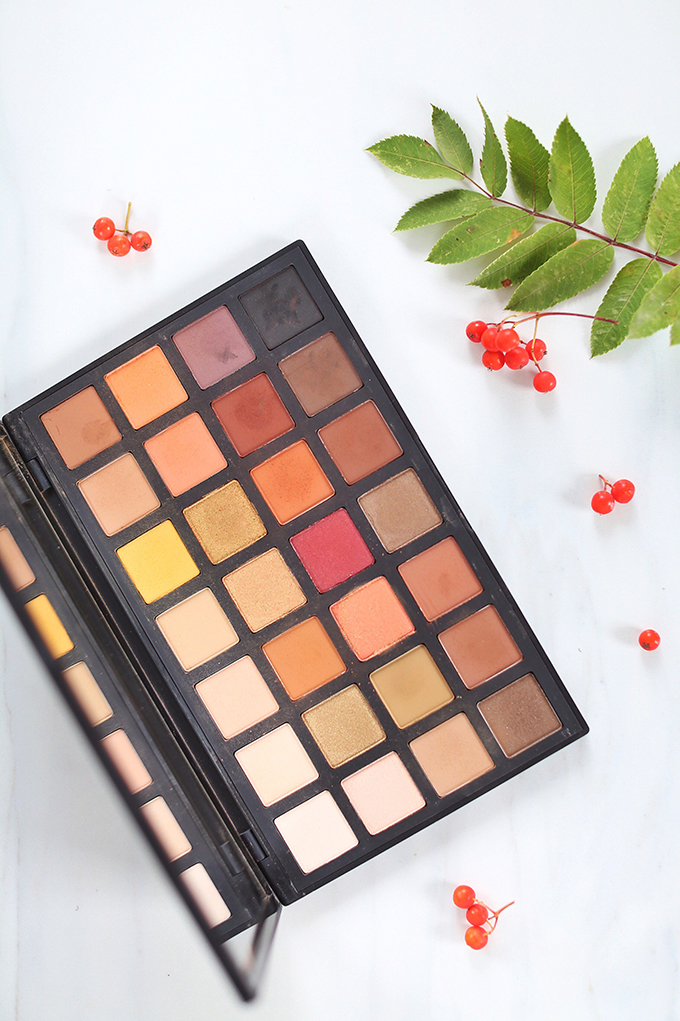 SEPHORA COLLECTION Sephora PRO Warm Palette Photos, Review, Swatches // JustineCelina.com