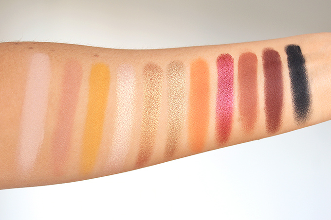 SEPHORA COLLECTION Sephora PRO Warm Palette Photos, Review, Swatches on NC 30 Skin // JustineCelina.com