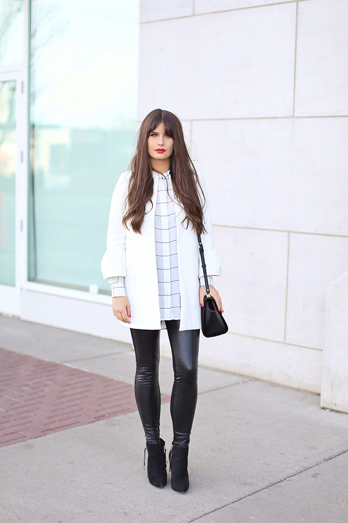 Autumn 2017 Trend Guide   Street Chic   Biggest Fall 2017 Trends   Checked Blouse // JustineCelina.com