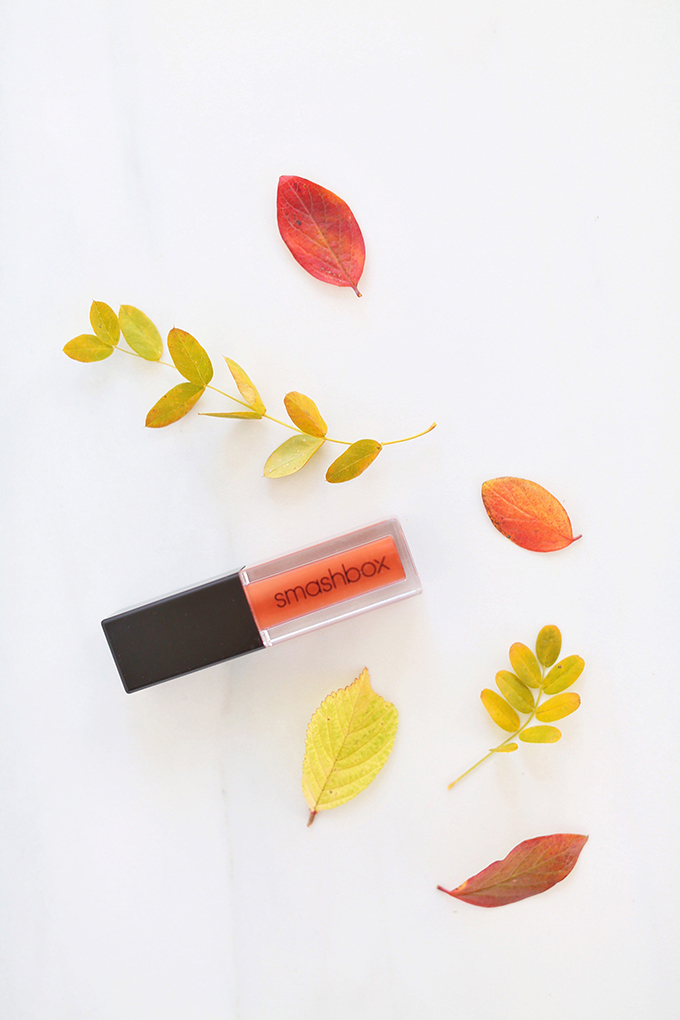 Smashbox Always On Matte Liquid Lipstick in Out Loud | September 2017 Beauty Favourites // JustineCelina.com