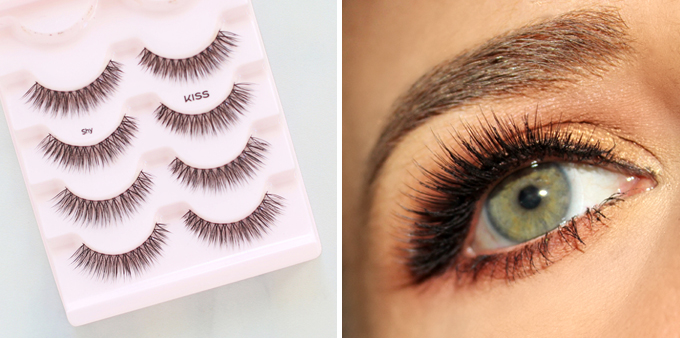 Kiss Looks So Natural Blooming Lashes in Shy | September 2017 Beauty Favourites // JustineCelina.com