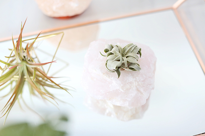 Rose Quartz Natural Stones Photos, Review | December 2017 Favourites // JustineCelina.com
