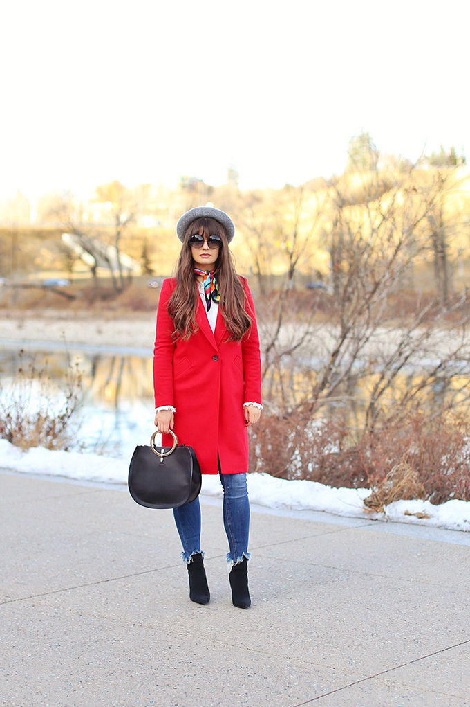 Winter 2017 Trend Guide | Red Hot // JustineCelina.com