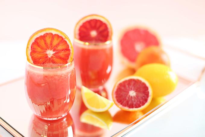 Citrus Season Elixir | The Best Fresh Pressed Citrus Juice // JustineCelina.com