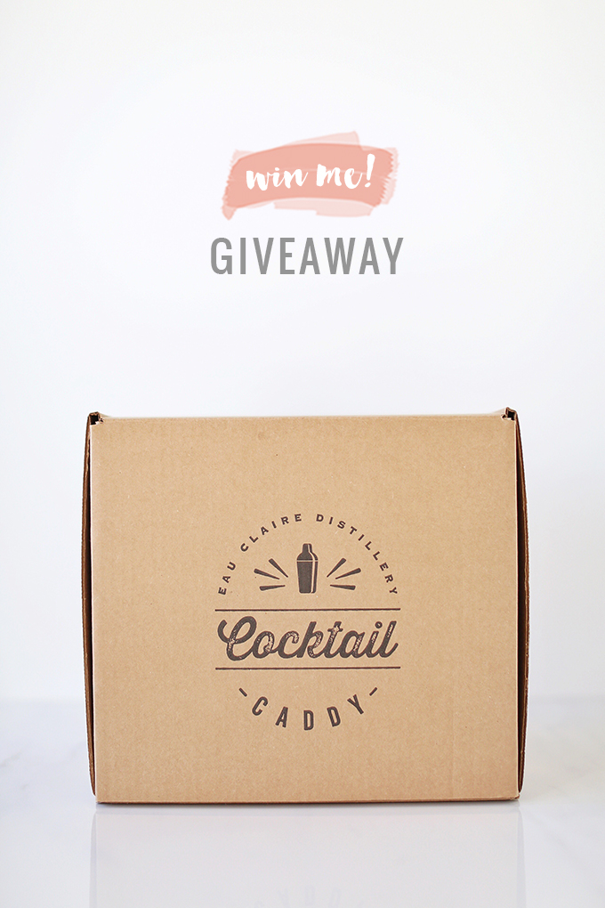 Rose Infused Cherry Gin Fizz | Featuring an Eau Claire Distillery Cherry Gin Cocktail Caddy GIVEAWAY | Calgary, Alberta Lifestyle + Food Blogger // JustineCelina.com